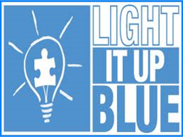 Light it Up Blue!!