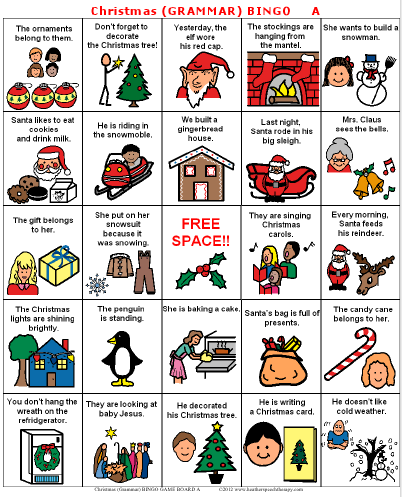 Tis the Season…for Christmas BINGO!