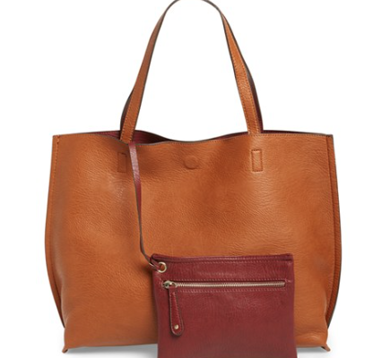 Fall Giveaway! Reversible Faux Leather Tote from Nordstrom {WINNER!!}
