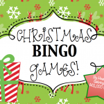 Christmas Speech Therapy BINGO Games!