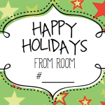 Free Holiday and Seasonal Signs for Your Speech Therapy Room