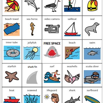 It's Shark Week in Speech Therapy