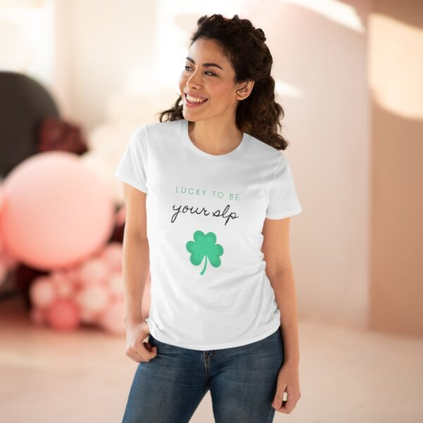 Lucky to be your SLP St. Patrick's Day tshirt