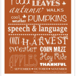 Heather's Fall Giveaway:  Speech Door Poster, App Promo Code, & Starbucks Gift Card!