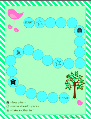 Freebie:  SKW Cluster Game for Spring!