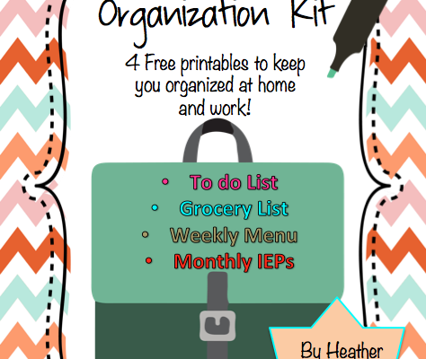 Let's Get Organized!