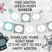 Winter Activities for Speech Therapy