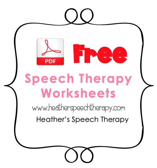 It's just a picture of Free Printable Speech Therapy Materials in final s blends