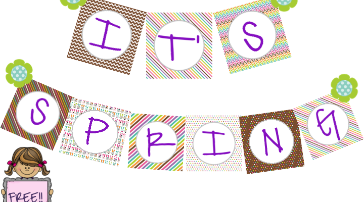 Speech Therapy Spring Banner!