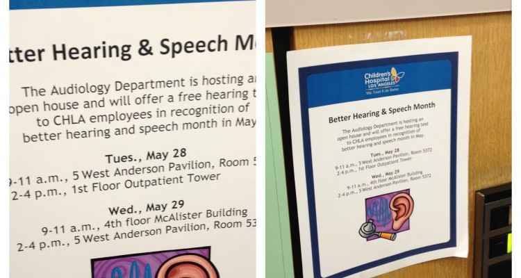 Better Hearing and Speech Month Freebies!